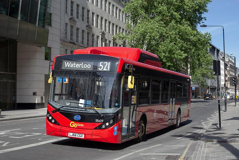 SEe29 LJ66CGX, Holborn 18/5/2020