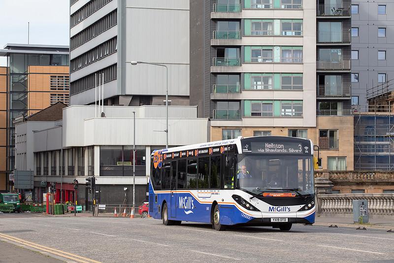 4203 YX19OTD, Glasgow 20/5/2020