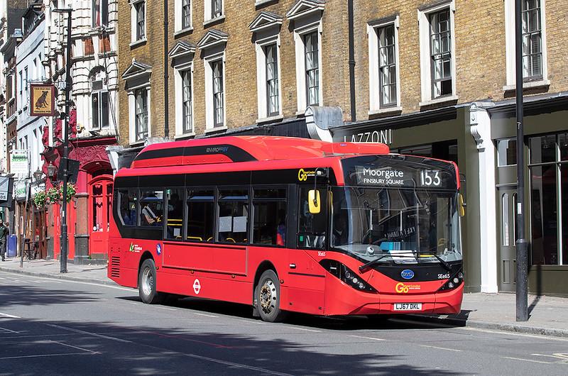 SEe65 LJ67DKL, Islington 20/8/2020