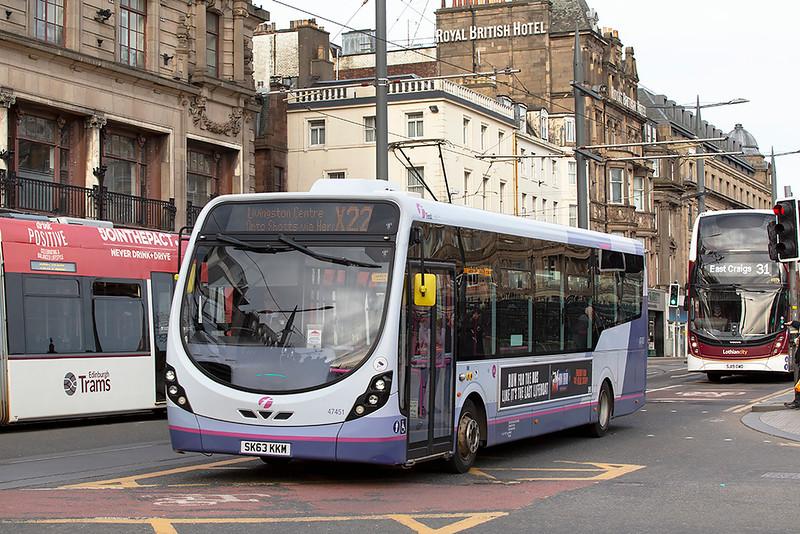 47451 SK63KKM, Edinburgh 21/3/2020