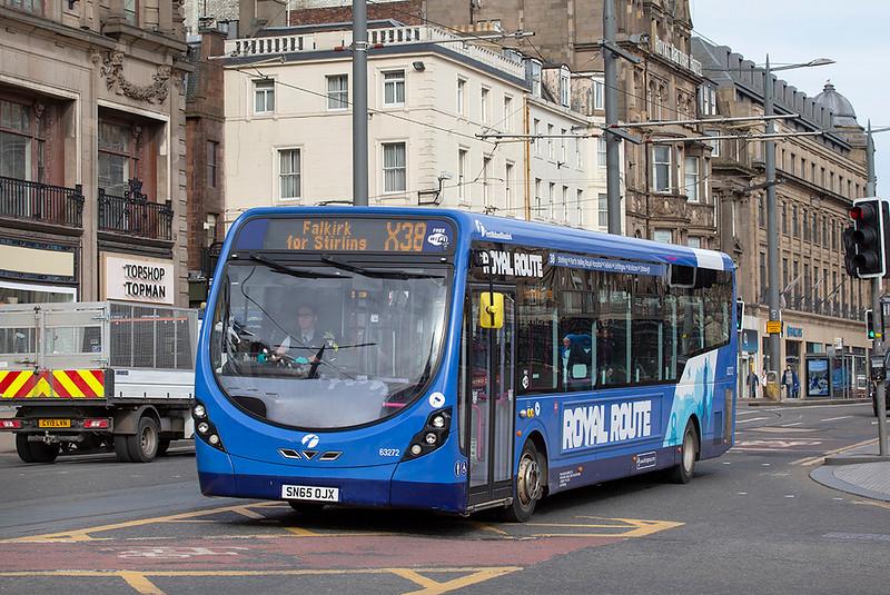 63272 SN65OJX, Edinburgh 21/3/2020