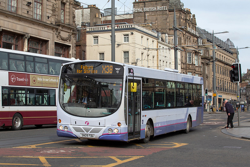 69405 SN09FBA, Edinburgh 21/3/2020