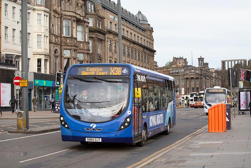 63268 SN65OJT, Edinburgh 21/3/2020