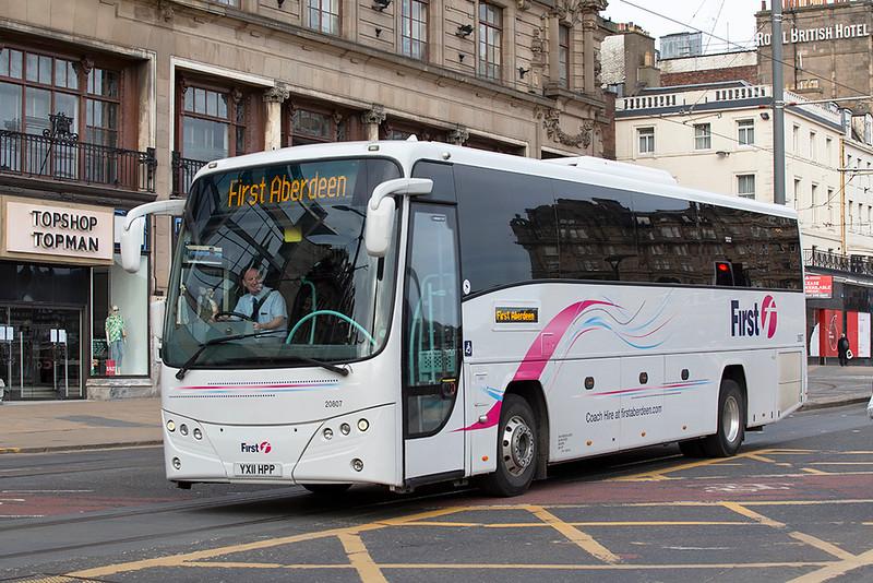 20807 YX11HPP, Edinburgh 21/3/2020