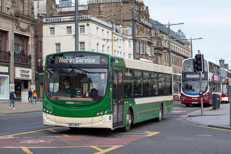 182 SN13BFE, Edinburgh 21/3/2020