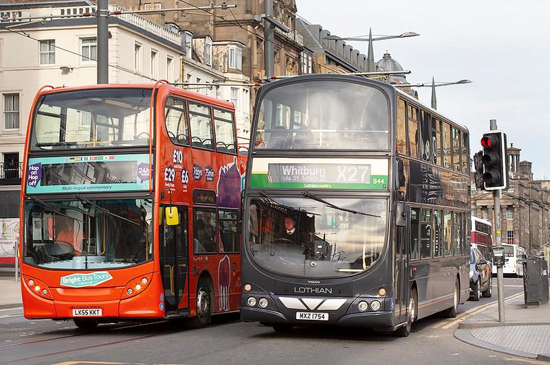 844 MXZ1754, Edinburgh 21/3/2020