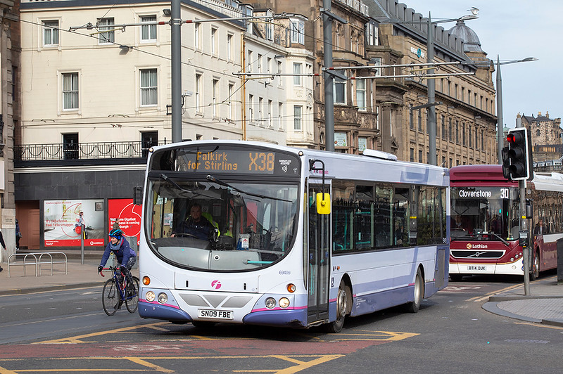 69409 SN09FBE, Edinburgh 21/3/2020
