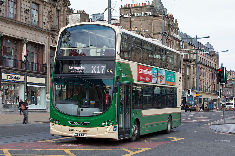 1047 LXZ5435, Edinburgh 21/3/2020