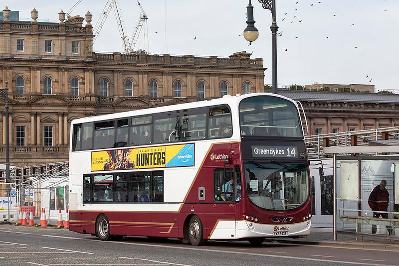 1050 LXZ5438, Edinburgh 21/3/2020