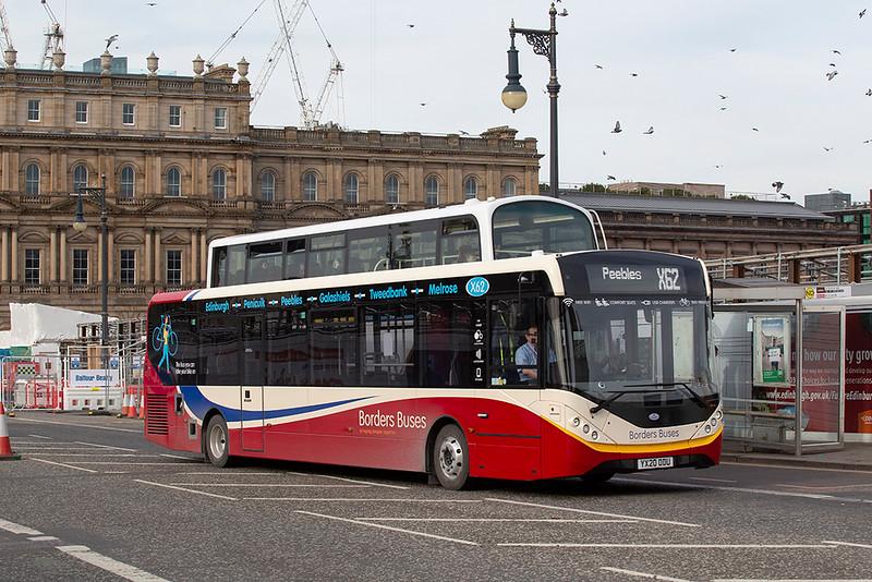 12008 YX20ODU, Edinburgh 21/3/2020