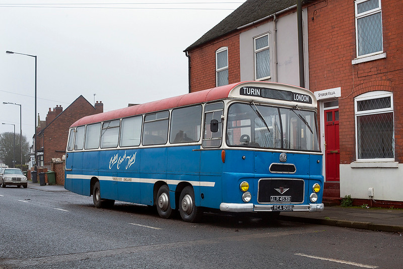 Crockers Coach Tours RCA501B, New Invention 22/1/2020