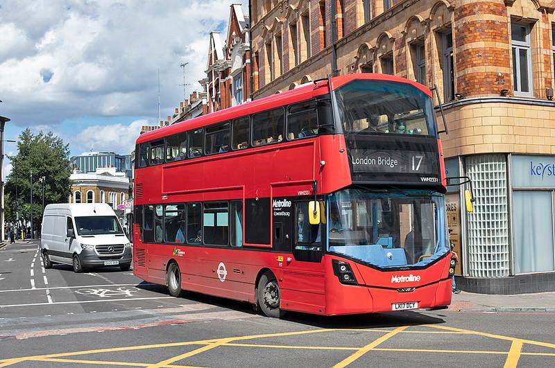 VWH2331 LK17DCY, King's Cross 22/8/2020