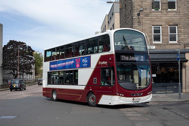 1000 LX11CVM, Edinburgh 23/9/2020