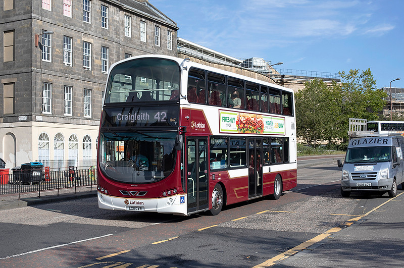 1147 LX11CVR, Edinburgh 23/9/2020