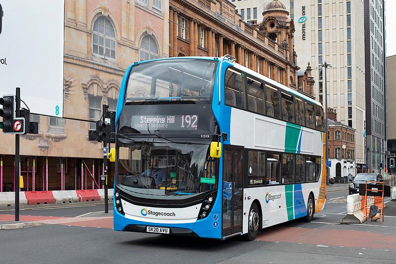 11519 SK20AVU, Manchester 24/7/2020