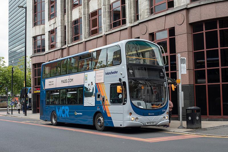 3241 MX58DXD, Manchester 24/7/2020