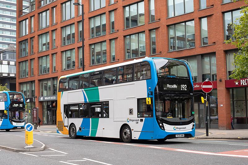 11532 SK20AWN, Manchester 24/7/2020