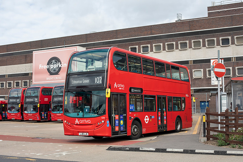T270 LJ61LJX, Brent Cross 24/8/2020