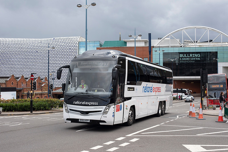 7145 BV69KPF, Birmingham 26/7/2020