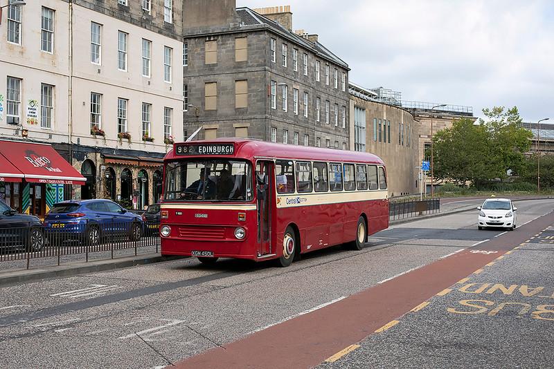 150 XGM450L, Edinburgh 26/9/2020