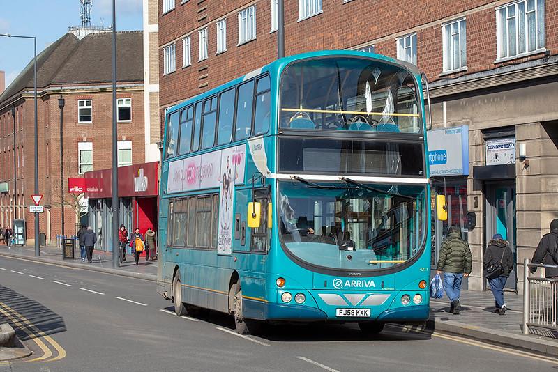 4211 FJ58KXK, Leicester 27/2/2020