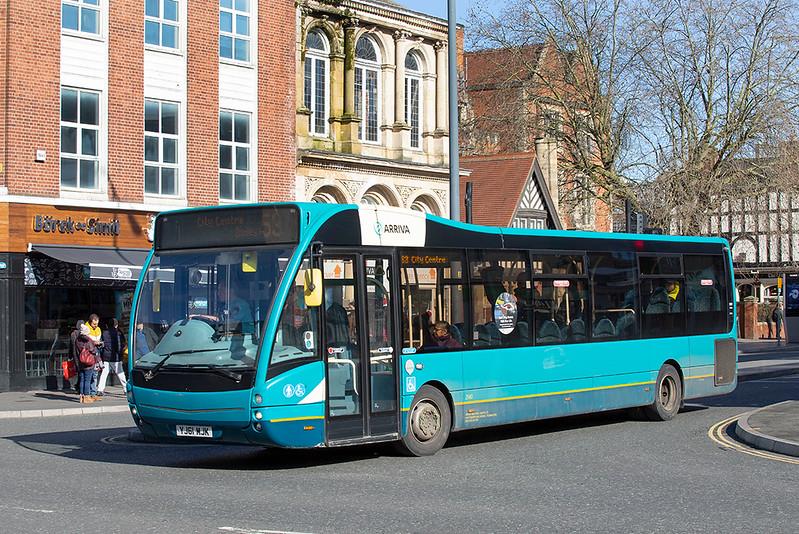 2940 YJ61KJK, Leicester 27/2/2020