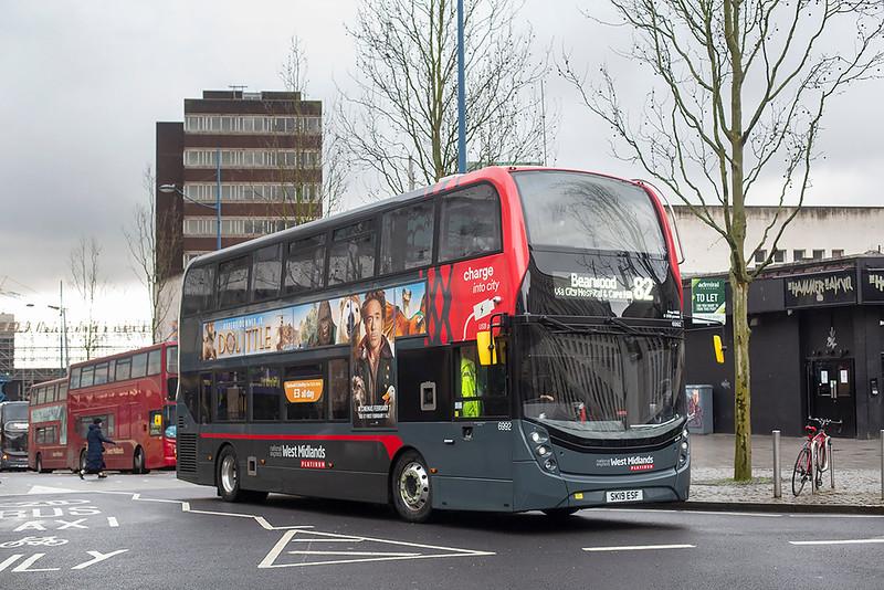 6992 SK19ESF, Birmingham 27/2/2020