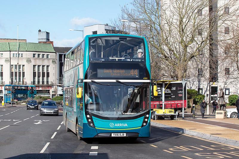 4502 YX16OJB, Leicester 27/2/2020