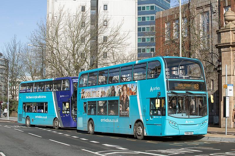 4418 YX64VOU, Leicester 27/2/2020