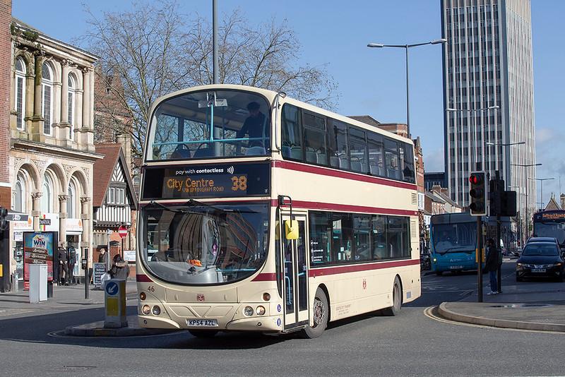 32646 KP54AZL, Leicester 27/2/2020