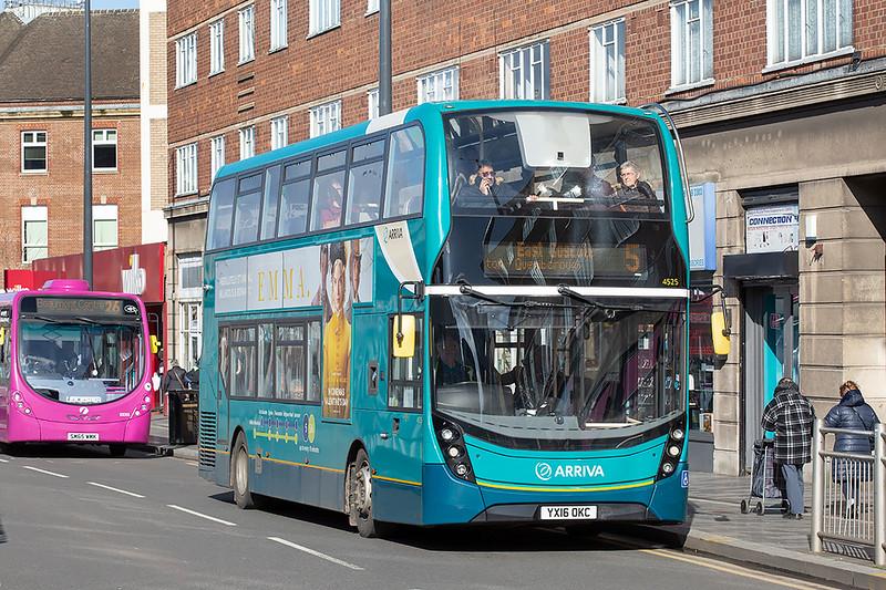 4525 YX16OKC, Leicester 27/2/2020