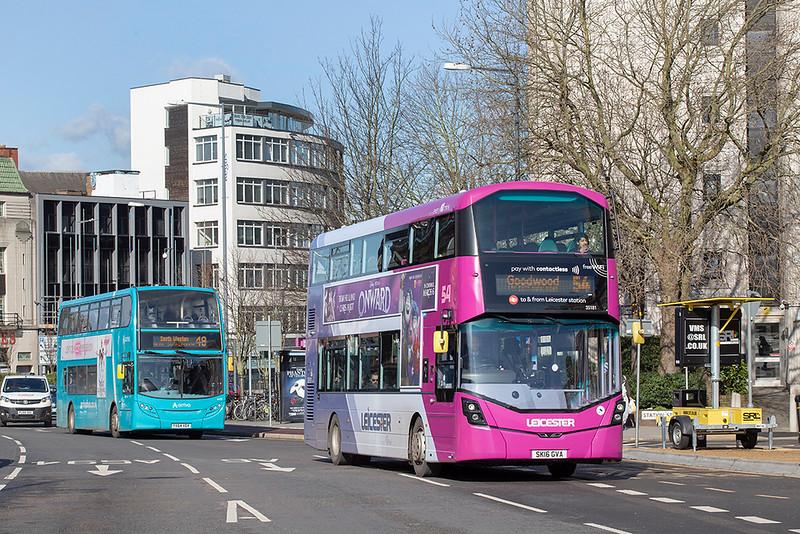 35181 SK16GVA, Leicester 27/2/2020