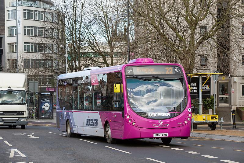63345 SM65WMO, Leicester 27/2/2020