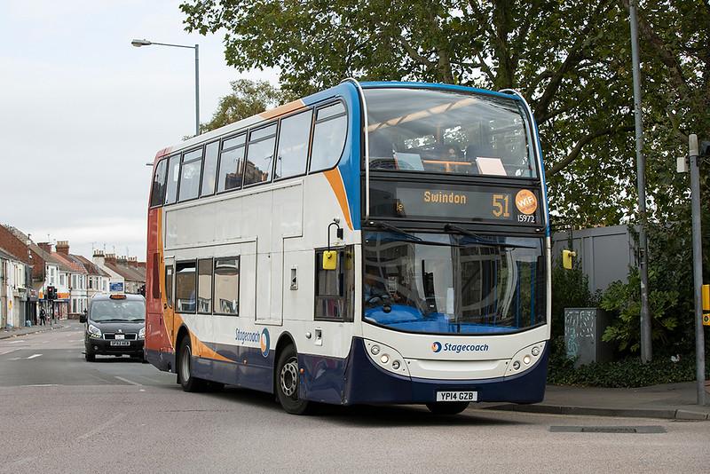 15972 YP14GZB, Swindon 28/9/2020