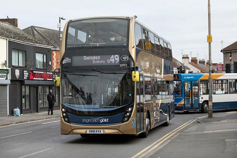 10992 SN18KVA, Swindon 28/9/2020