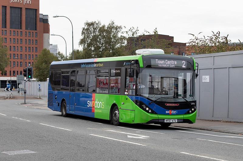 2774 HF67ATU, Swindon 28/9/2020