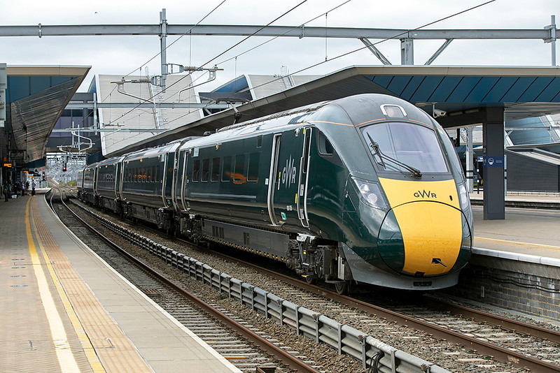 800035 Reading 28/9/2020<br /> 1P28 1155 Great Malvern-London Paddington