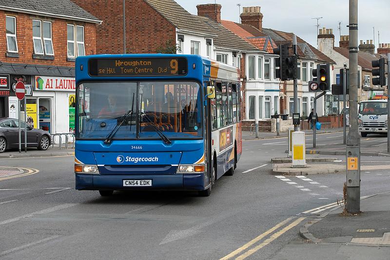 34666 CN54EDK, Swindon 28/9/2020