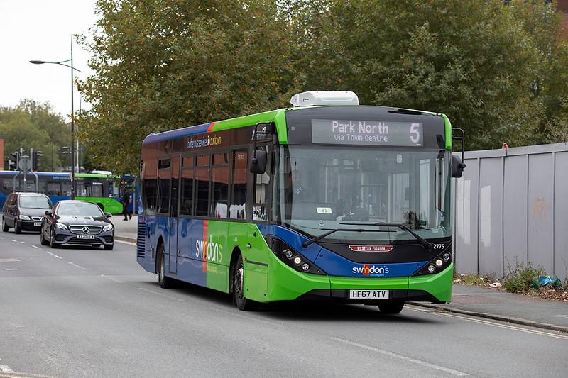 2775 HF67ATV, Swindon 28/9/2020