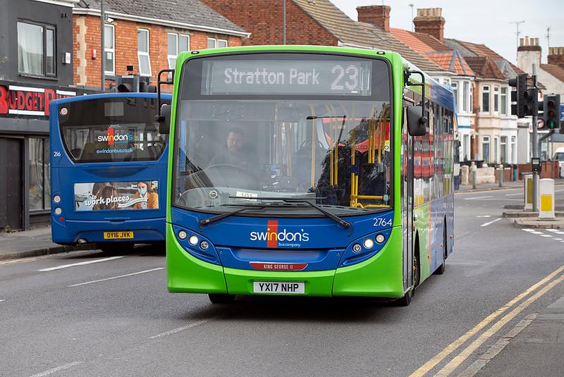 2764 YX17NHP, Swindon 28/9/2020