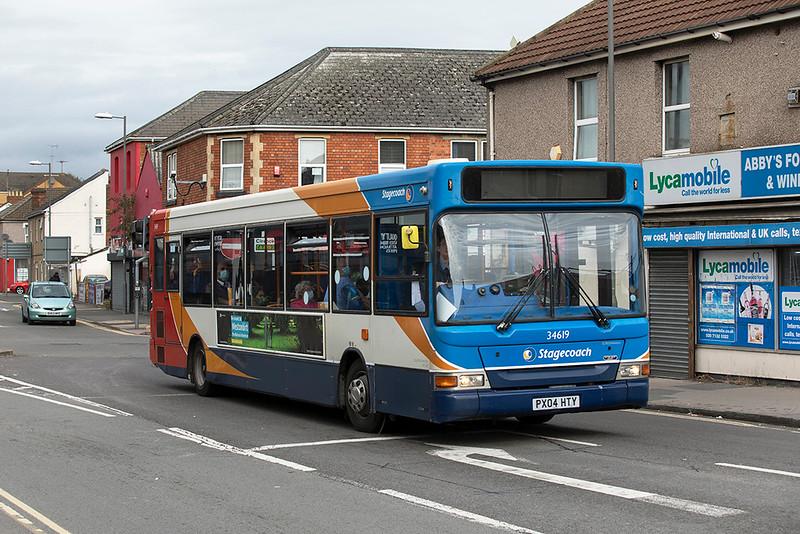 34619 PX04HTY, Swindon 28/9/2020