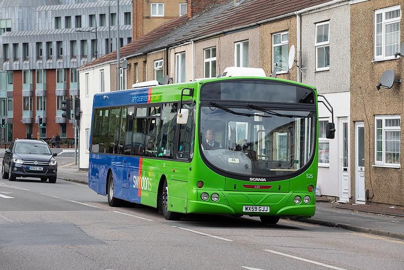 525 WX59GJJ, Swindon 28/9/2020