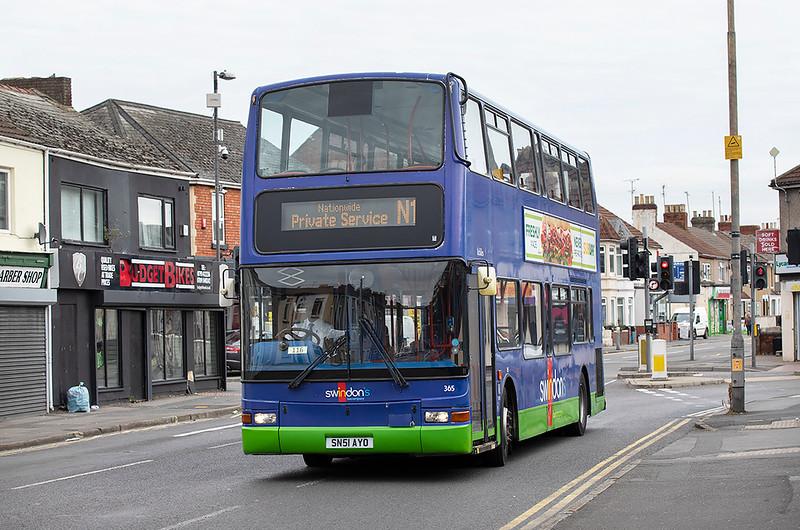 365 SN51AYO, Swindon 28/9/2020