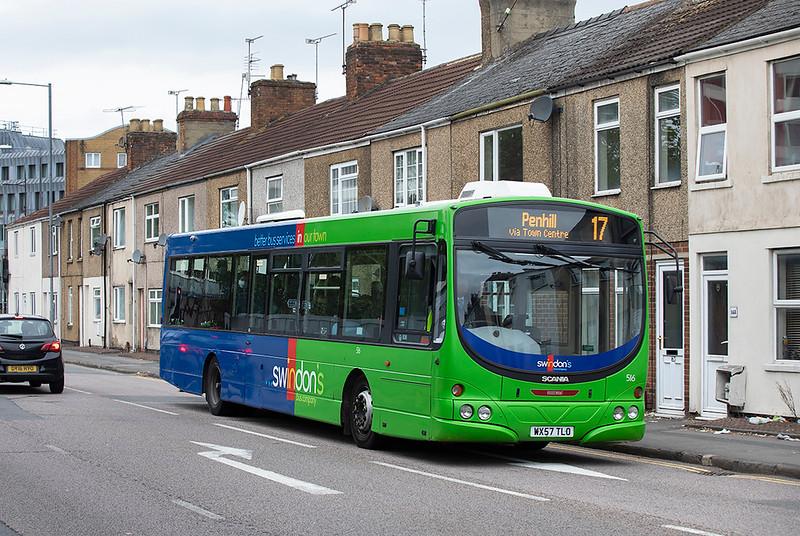 516 WX57TLO, Swindon 28/9/2020