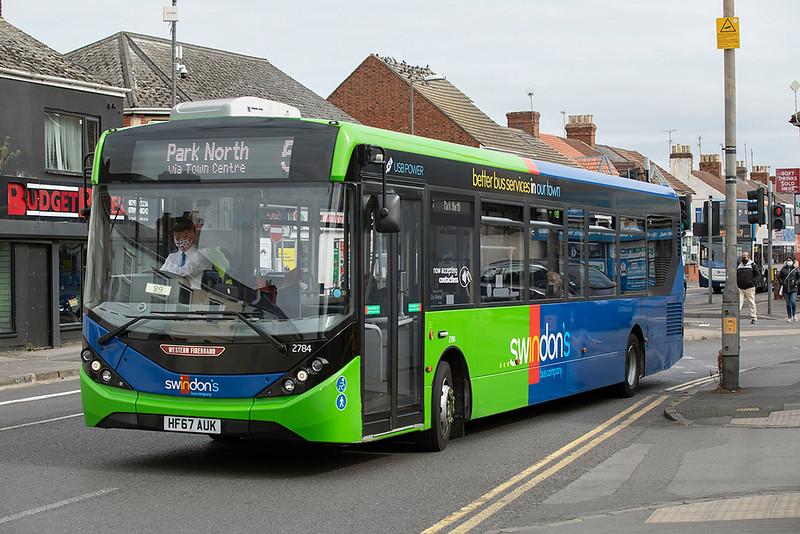 2784 HF67AUK, Swindon 28/9/2020
