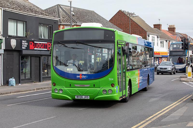 504 WX06JXS, Swindon 28/9/2020