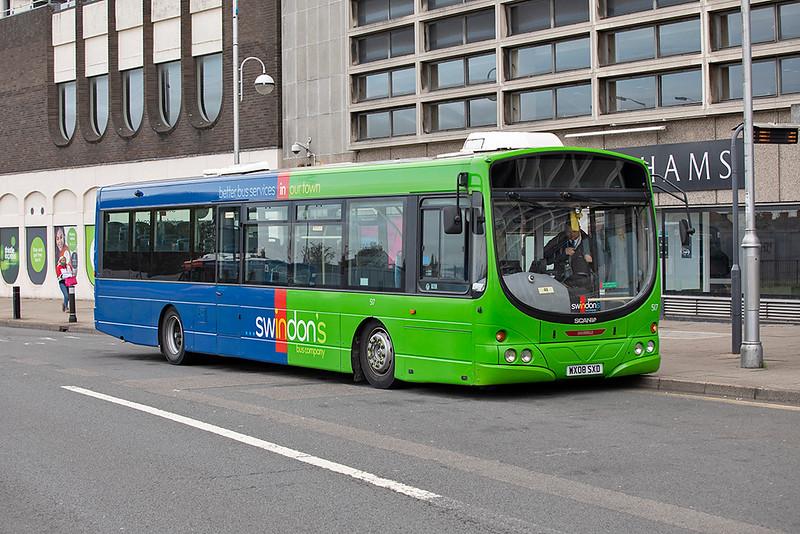 517 WX08SXD, Swindon 28/9/2020