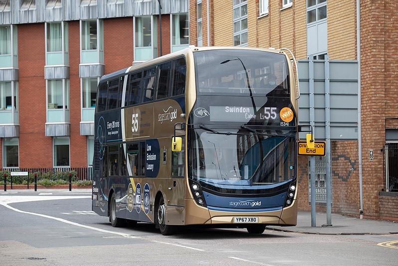 15341 YP67XBO, Swindon 28/9/2020
