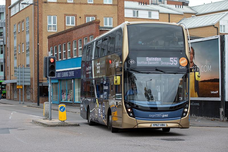15345 YP67XBU, Swindon 28/9/2020