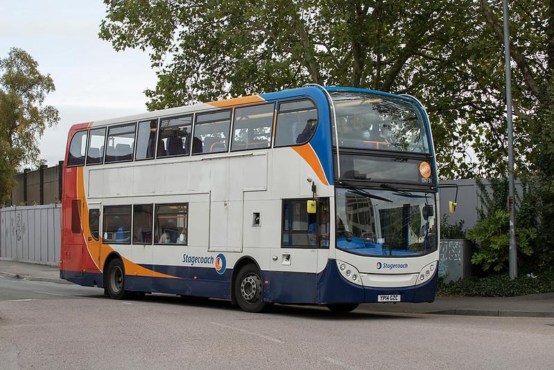 15973 YP14GZC, Swindon 28/9/2020
